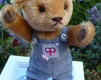 Artist bear, cute 7.5 inch mohair bear, Bobo
