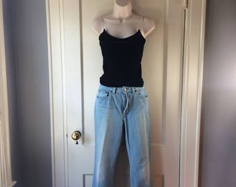 Vintage 1990s GAP Light Blue Jeans Women's 30 x 31 Size 6 Made in USA