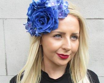 Gold Ivory Pearl Leaf Hair Vine Bridal Headpiece Headband Grecian Wedding 3494
