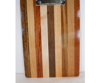 Wooden Clipboard, Wood Note Pad, Unique Office Gift (#221)
