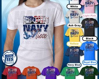 Proud Navy Niece T-Shirt