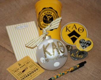 Kappa Alpha Theta Sorority Gift Set