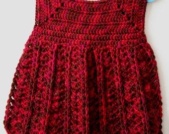 Crochet Baby Pinafore Dress