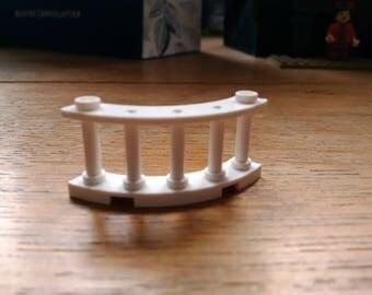 LEGO... 5 * 2cm white fence