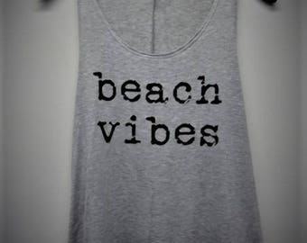 Beach Vibes Women's Graphic Tank Top