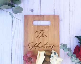 Personalized Cheese Board,Cutting Board,Custom Cutting Board,Personalized gift,Engraved gift, gift,Wedding gift,gift for her,gift for him