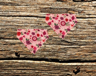 Valentine's Day Over The Collar Pet Bandana