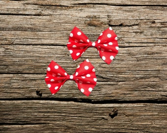 Red Polkadot Pet Bow Tie