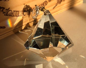 Diamonds Are A Girl's Best Friend - Vintage European Chandelier Crystal
