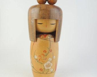 H31cm(12in) BIG Vintage kokeshi doll,