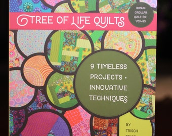Tree of life quilts:  quilting book with instructions.