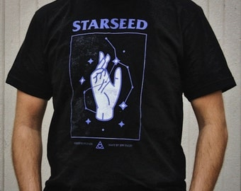 Starseed Constellation T-Shirt - Highest Quality - Metaphysical Clothing - Mystical, Spiritual, Esoteric - Higher Consciousness - Unisex