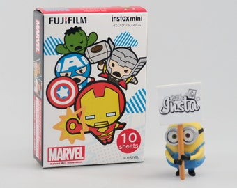 Fujifilm Instax Film Mini Marvel Kawaii - For Instax Mini 7, 8, 8+, 25, 50, 70, 90, SP-1 and Polaroid PIC 300