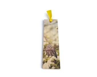 Wooden bookmark - Wood bookmark - Owl bookmark - Bird bookmark - Owl - Bird - Book lover gift - Handmade bookmark - Unique bookmark