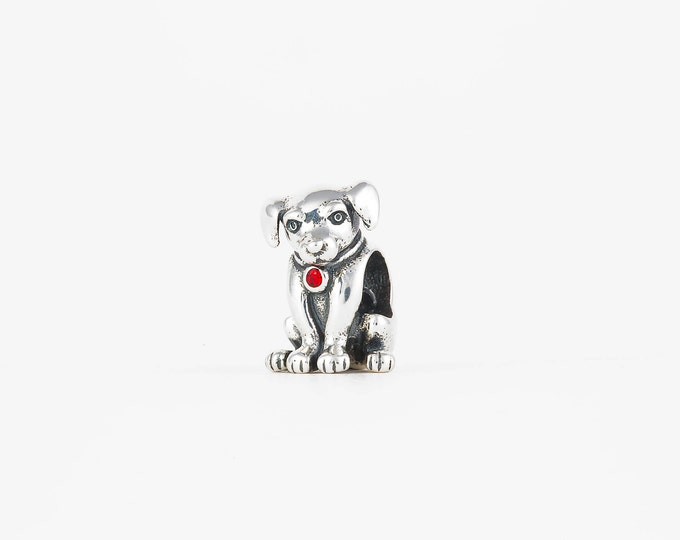 Labrador Dog Charm - 925 Sterling Silver - Dog Necklace - Gift Packaging Available - Birthday Gift - Personalized Gift