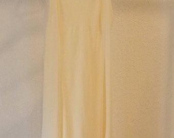 Vintage Women's Lace Cream Wonder Maid Full Slip Adjustable Strap