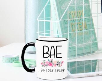 Best Aunt Ever Mug, Aunt Mug, Aunt Gift, Gift for Aunt, Gift for Sister, New Aunt, Sister Pregnancy Reveal, Sister Pregnancy Announcement
