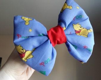 Winnie the Pooh Blue Bow