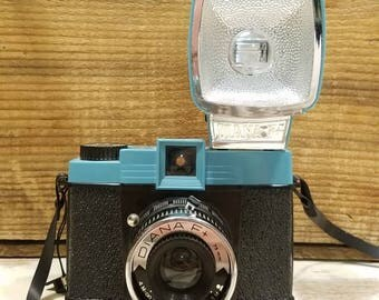 Diana F+ - 120 film Lomography film camera  (includes flash, strap, and book)