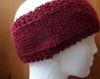 Hand knitted Head warmers/Headbands
