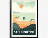 San Junipero - Black Mirror Poster Print