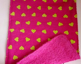 Customizable child napkin