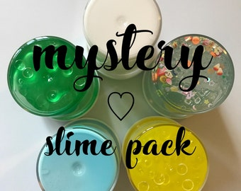 MYSTERY SLIME PACK! includes extras!