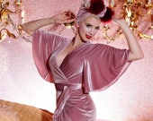 Harlow Wrap Gown - Miss Tosh