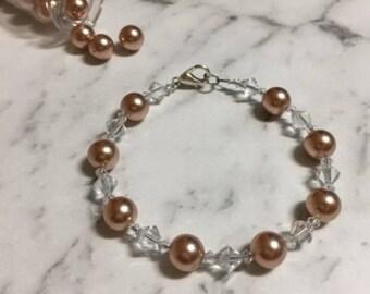 Swarovski Bracelet Rose Gold ***20% Off***