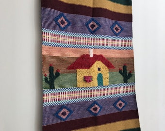 Fetched Decor: Vintage southwestern-style wall hanging