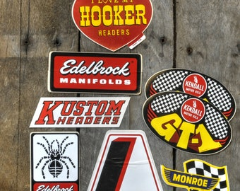 1970's Era NHRA Stickers