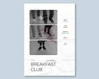 The Breakfast Club Alternative Poster