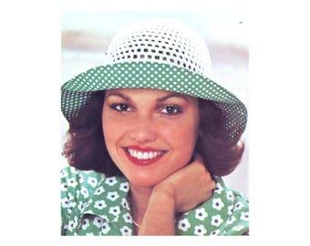 Sunhats Crochet & Sewing Pattern