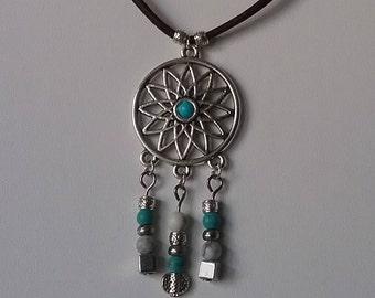 Crew neck spirit turquoise Native American