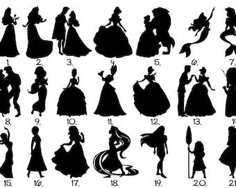 Disney Princess Magic Band Decal