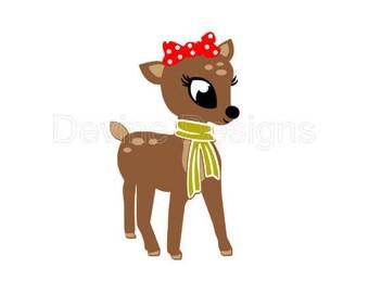 Cute Deer SVG