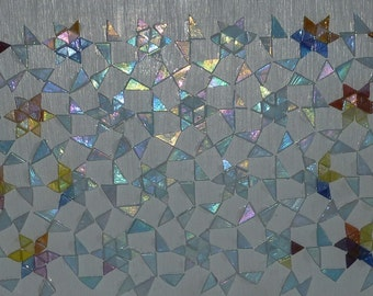 "Mosaic ""Refraction of light""."