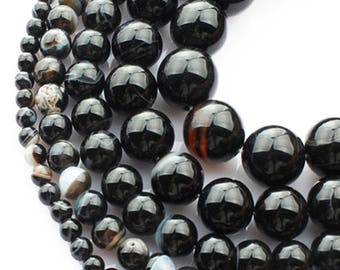 6mm Agate Natural Stone Beads Stone Round Loose Beads Gemstone Bead Supply