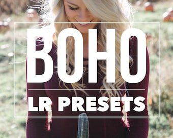 Boho 40 Lightroom Presets