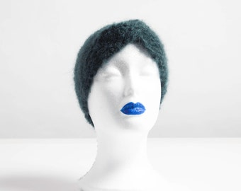 Hand Knitted Mohair Headband