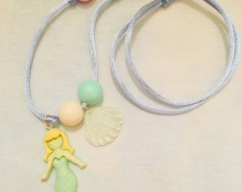 Mermaid for Each Other Necklace in Green