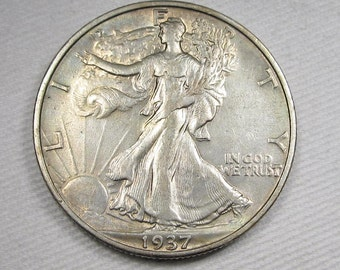 1937 S Walking Liberty Half Dollar CH XF Details Coin