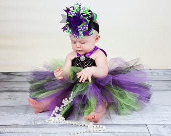 Witch Hair Bow Purple Green Black,Over the Top Baby Headband Halloween Witch Costume,Witch Baby Headband,Witch Baby Girl Costume,Big Bows