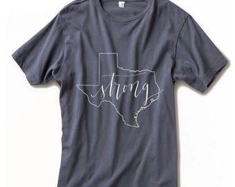 Texas Strong Disaster Relief Shirt / Texas Strong Shirt / Texas Shirt / Hurricane Relief Fundraising Shirt