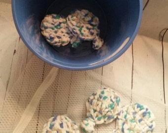Water Balloons- reusable, green, summer fun, reusable water balloons, crocheted, summer toys, ready to ship
