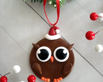 Owl ornament  Etsy