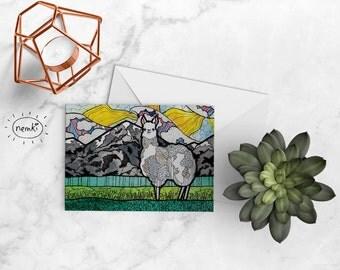 Llama Card, Llama Printable, Llama Greetings Card, Llama Printable Card, Llama Downloadable, Cute Llama Card, Llama Blank Card, Llama Gift