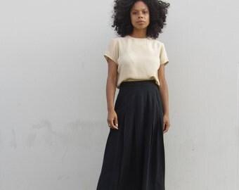 Vintage 90s rayon maxi skirt