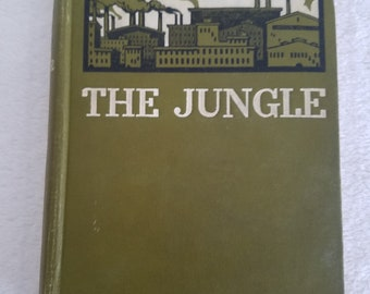 The Jungle by Upton Sinclair, 1st Edition, 1906, New York, Numbered