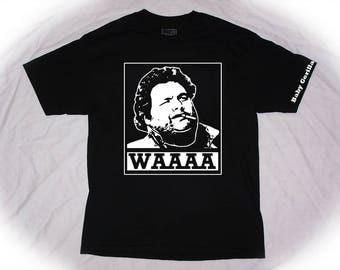 Artie Lange T-shirt aka baby gorilla WAAAA howard stern